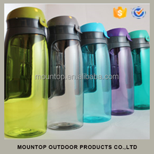 As seen on TV tritan/pet bpa free water bottles wallet infuser water jug hot new for 2015