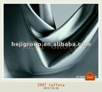 Tafeta breathable coated woven fabric for suiting lining material