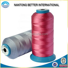 Nylon polyester waterproof sewing thread