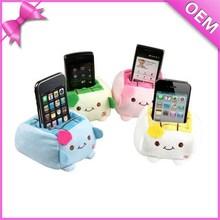 custom plush phone case stuffed animal cell phone holder