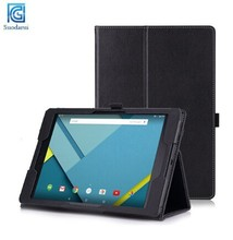 For Google Nexus 9 Book Stand Leather Tablet PC Wake and Sleep Case Cover