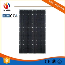 roof and ground high power monocrystalline solar panel