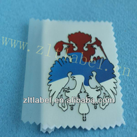 No min quantity high end quality fashion garments private label&heat transfer labels