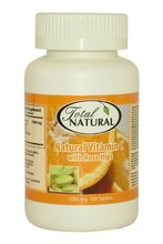 Natural Vitamin C With Rose Hips - 1000mg 100t