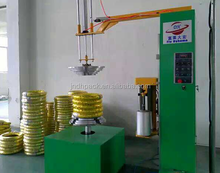 Small tyre/motorcycle tyre stretch wrapping machine/packing machine