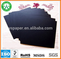 100% virgem polpa de madeira núcleo preto cartão/placa de papel