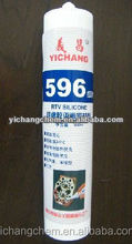 red 596 industrial RTV silicone sealant