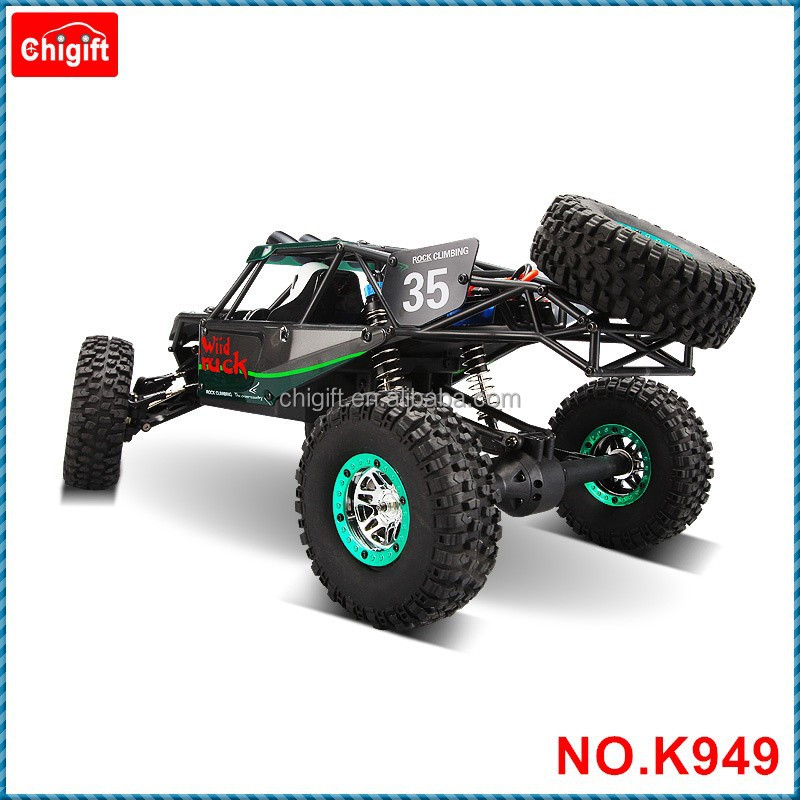 rc truck k949 electric four wheel drive climbing short rc car buy 1 10 remote control electric. Black Bedroom Furniture Sets. Home Design Ideas