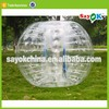 outdoor bumper ball inflatable belly bumper ball for sale