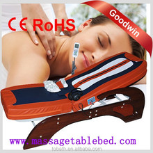 2015 Made In China Auto Jade Thermal Folding Infrared Digital Electric Massage Bed for Phisiotherapy GW-JT03