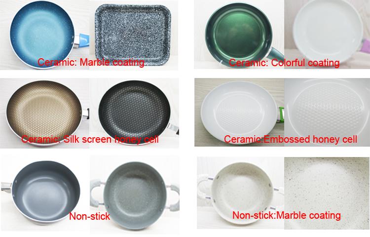 Alta qualidade e melhor venda bem pan compartimento branco conjuntos de panela de cerâmica
