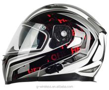 Wireless Walkie talkie BT interphone GPS two way radio headset motorcycle helmet Best motorcycle helmet