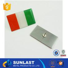 Sunlast 5% precio con descuento metal de la forma de la bandera insignia OEM995