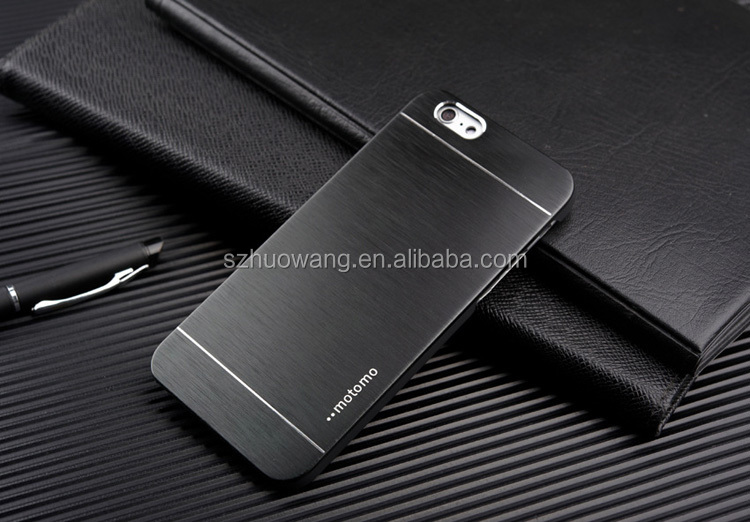 Metal brushed Aluminum MOTOMO case for iphone 6 case cover