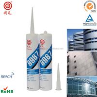HT9967 ECO-FRIENDLY Silicone white glue for concrete and metal