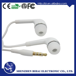 factory directly sell wired headphone for samsung galaxy