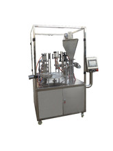 Hot cheap Rotary type coffee capsules filling sealing machine for KCUP /Nespresso / Lavazza
