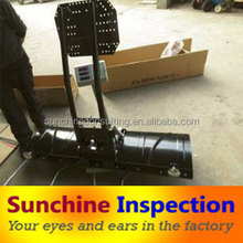Snow plow quality check/quality inspection before shipment /third party inspection service in China
