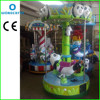 playground equipment coin machines kids toys ride plastic carousel horse for children