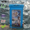 Wholesale pvc waterproof diving/swimming pouch for iphone4