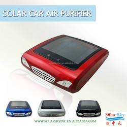 Newest fashionable solar air purifier for car