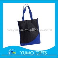 custom non woven carrier bags with silk printing