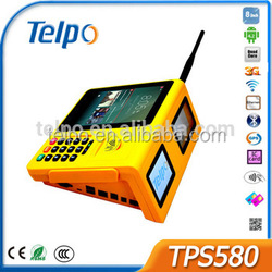 Telpo New Design Hot Sale pos keyboard with Wifi Bluetooth Printer with Fingerprinter Reader