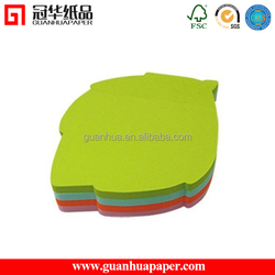 Customized Available fruit shaped sticky note