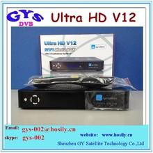 2015 best hd satellite v12 dreamlink hd fta satellite receiver jynxbox ultra hd v12 for North America