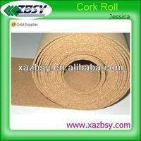 "2013""QinBa"" Nontoxic cork sheet/cork roll/cork underlay for flooring"