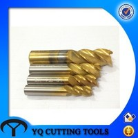 HSS 4 Flute Straight Shank End Mill Cutter Sizes