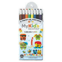 Full color logo twist crayons. Comes with your full color logo on the front insert.