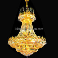 Empire hot sale indoor crystal lights , ceiling chandelier lighting made in China