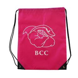 High Quality Nylon Waterproof Drawstring Gym Bag For Packaging