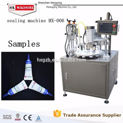 Toothpaste Cosmetics Semi-automatic Tube Filling Sealing Machine,CE Approved