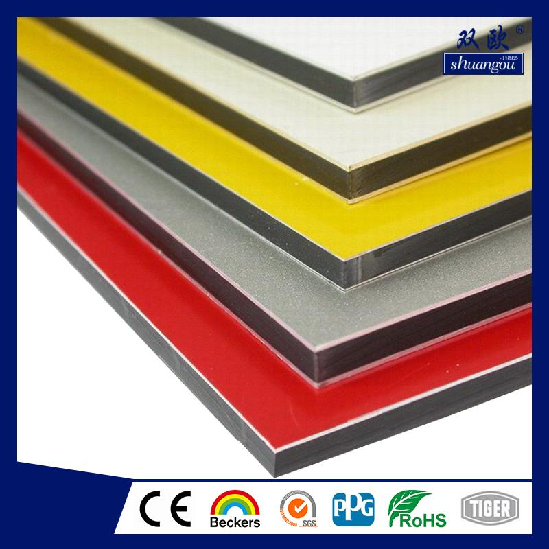 Brand New Shuangou Aluminum Composite Panel In Dubai With