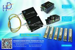 HD-2HD-20/HD-SDI 2ch SDI Channel LC singal mode 1310/1550nm 20km high vedio converter