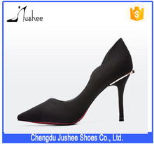 Jushee 2016 Sexy Thin Heel Pointed Toe Office Ladies High Heel Pump Shoes JS-H-225