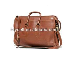 2013 hot sell fashion vintage genuine leather handbag men