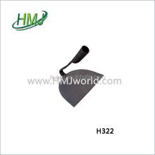 Farm hoe rail steel garden two useful hoe & rake with short handle