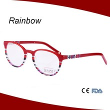 2015 popular bright color acetate eyewear optical frames wholesale manufacture spectacle frames A15295