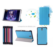 For samsung tab S T700 leather case , 8.4 inch flip case