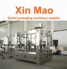 High quality bottle washing filling capping three in one