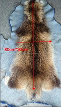 raccoon skins, long raccoon fur, high quality, dye solid colors, for garment and collar, fur pompoms