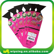 printing die cut paper card with customized for gift promotion
