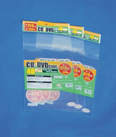 CD/DVD custom plastic poly bag