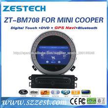 2 din Navegación pantalla táctil Mini Cooper Dvd del Coche/Mini Cooper Gps del Coche/mini Dvd del Coche/Para BMW Dvd del Coche