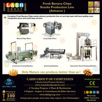 Banana Crisps Processing Making Production Plant Manufacturing Line Machines for Sudan r872