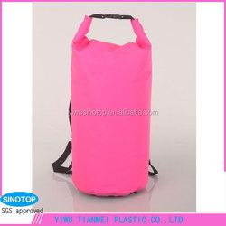 Rose Red Waterproof Travel Bags First Aid Women Men Outdoor Camping Hunting Kayak Dry Duffle Backpacks Luggage