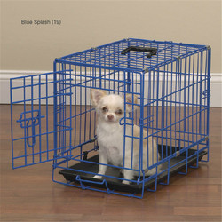 KTMT iron dog cage/cheap dog cage/dog cage with wheels